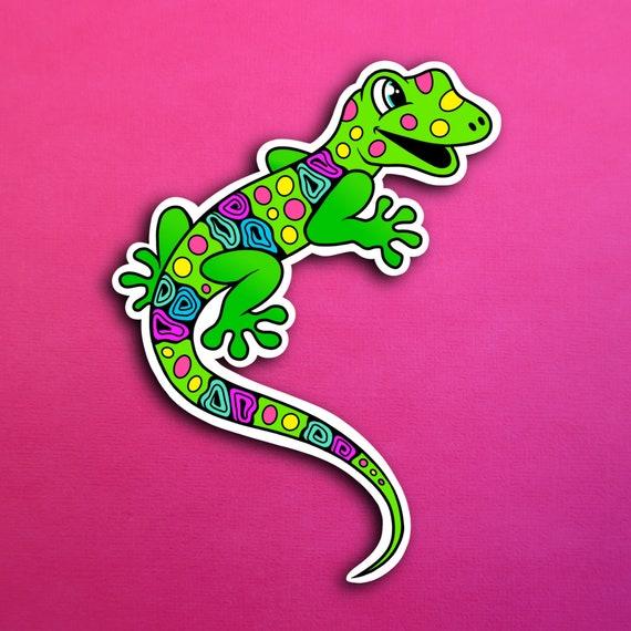 Lealon the Lizard Sticker (WATERPROOF)