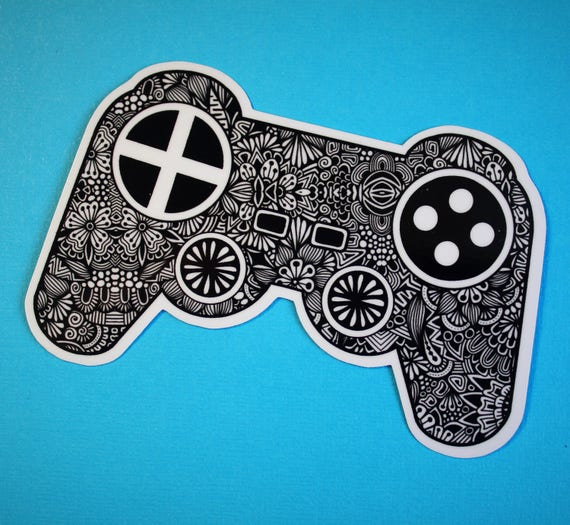 Game Controller Sticker (WATERPROOF)