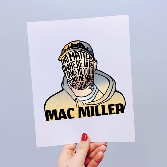 Mac Miller Print