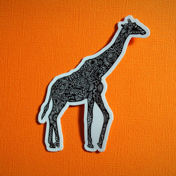 Giraffe Body Sticker (WATERPROOF)