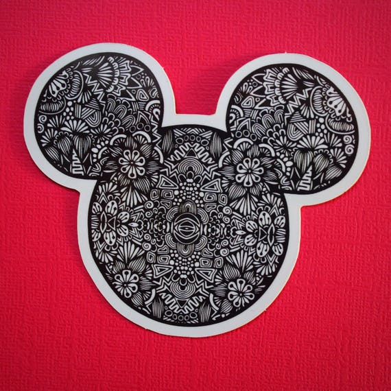 Mr. Mouse Sticker (WATERPROOF)