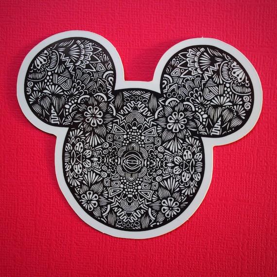 Mickey Sticker (WATERPROOF)