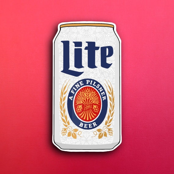 Miller Lite Sticker (WATERPROOF)