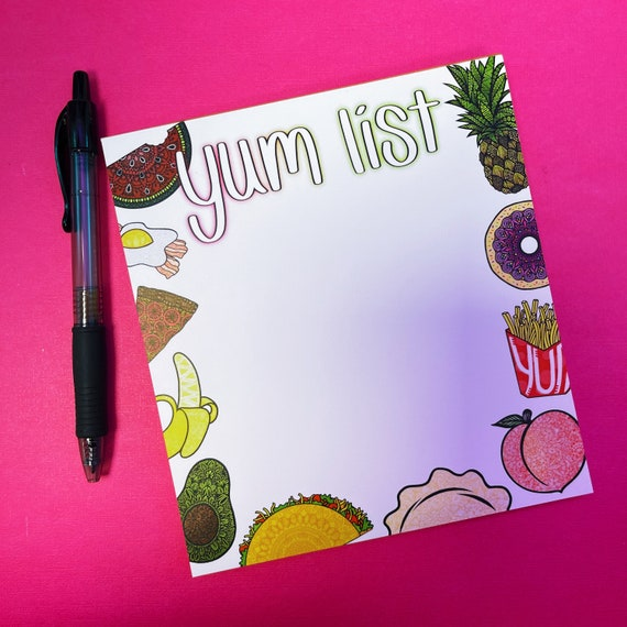 Yum List Notepad