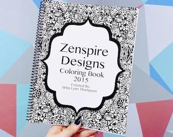 Zenspire Coloring Book