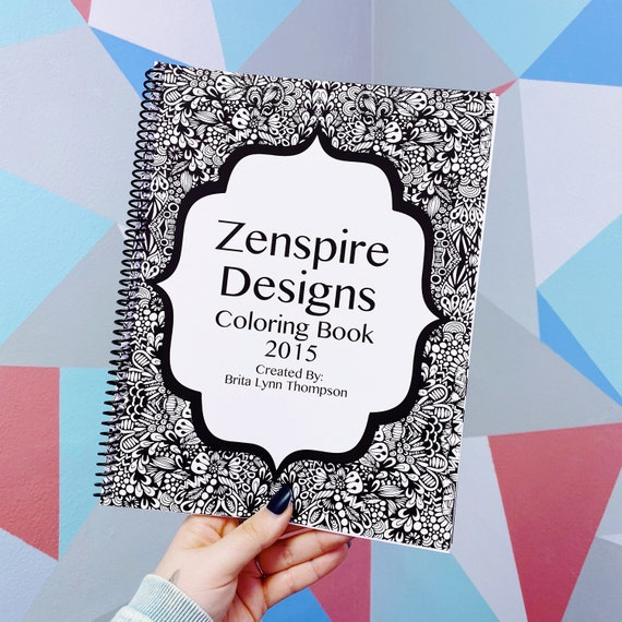 RESTOCKED Zenspire Coloring Book
