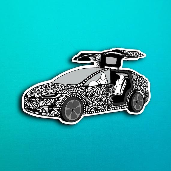 Tesla Sticker (WATERPROOF)