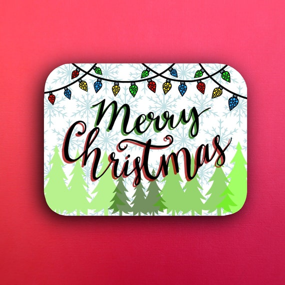 Merry Christmas (WATERPROOF)