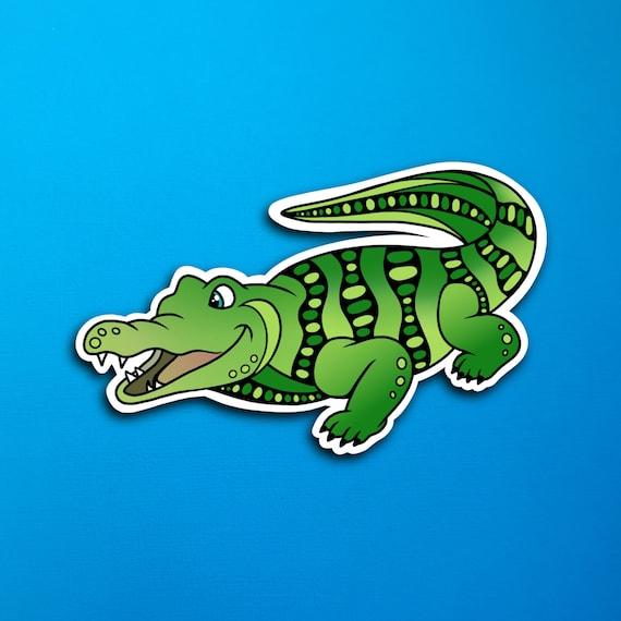 Anderson the Alligator Sticker (WATERPROOF)
