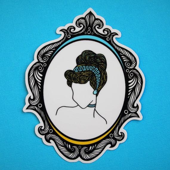 Clock Strikes 12 Sticker (WATERPROOF) Princess