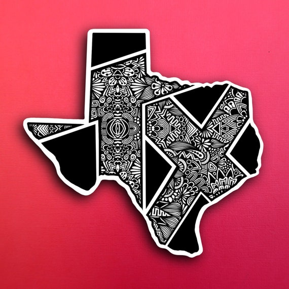 Texas Sticker (WATERPROOF)