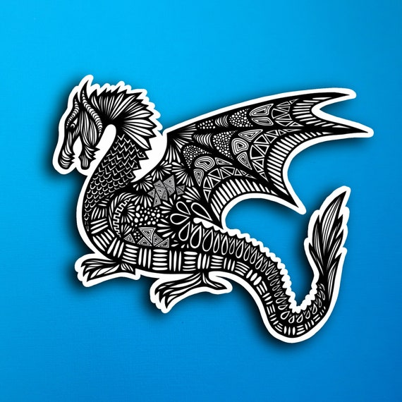 Dragon Sticker (WATERPROOF)