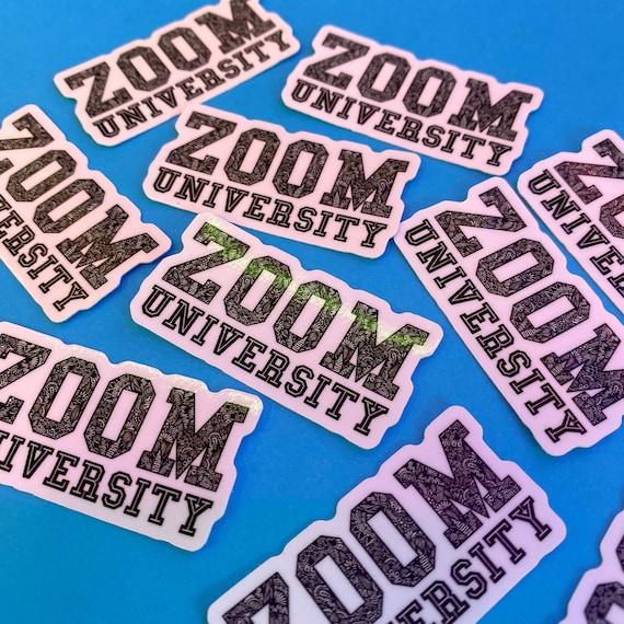 Mini ZOOM Sticker (WATERPROOF)