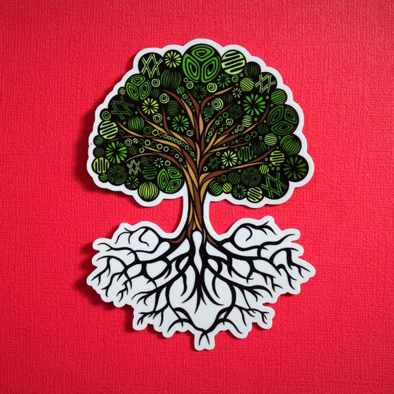 Tree Sticker (WATERPROOF)