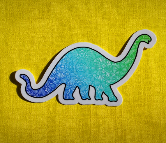 Dino Sticker (WATERPROOF)