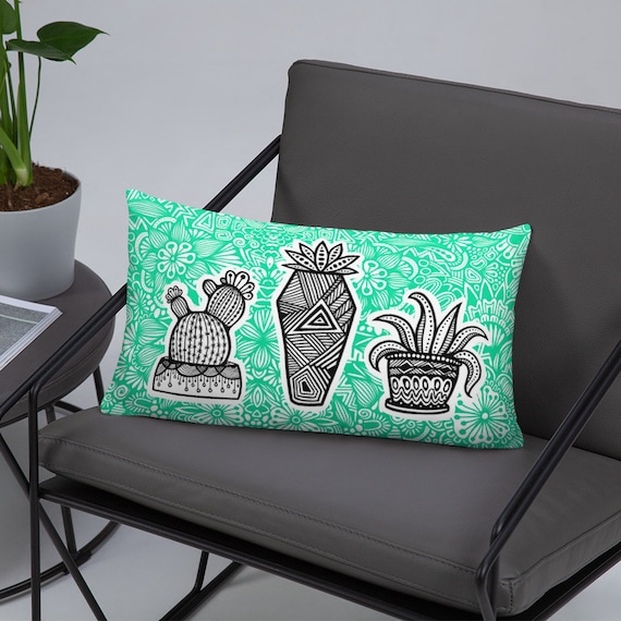 Succulent Basic Pillow