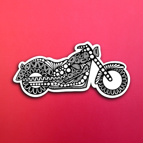 Motorcycle Sticker (WATERPROOF)