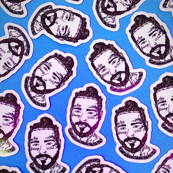 Post Malone Mini Sticker