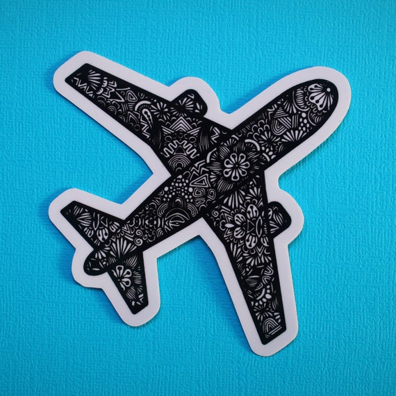 Plane Sticker (WATERPROOF)