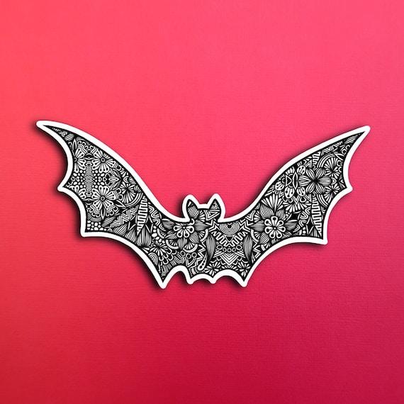 Bat Sticker (WATERPROOF)