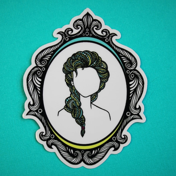 Frozen Queen Sticker (WATERPROOF) Princess