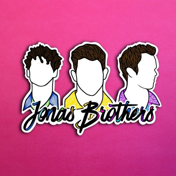 Jonas Brothers Sticker (WATERPROOF)
