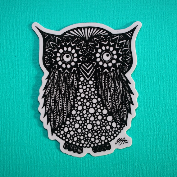 Hoot Hoot Sticker (WATERPROOF)