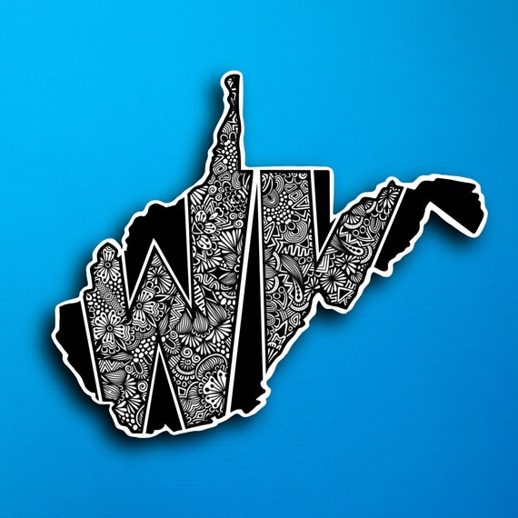 West Virginia Sticker (WATERPROOF)