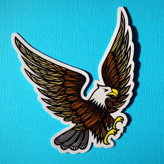Eagle Sticker (WATERPROOF)