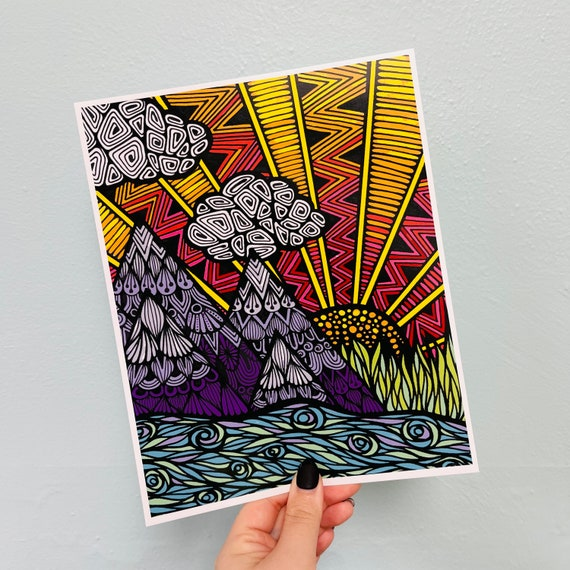 Let's Get Lost Print