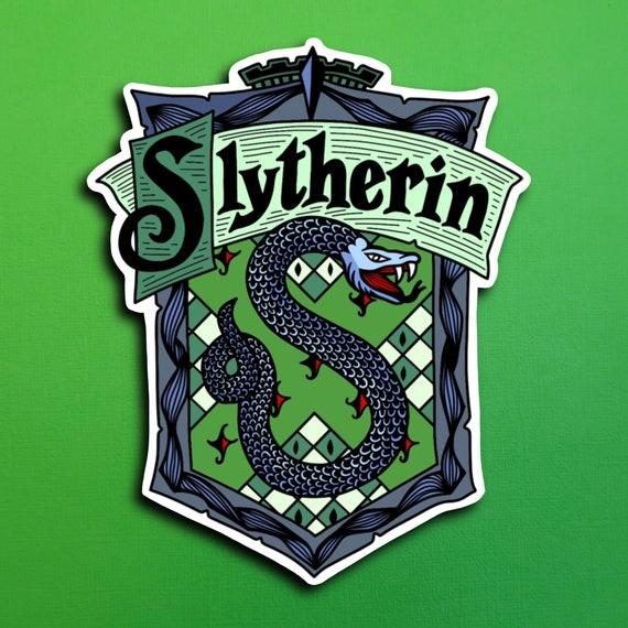Slytherin Sticker (WATERPROOF)
