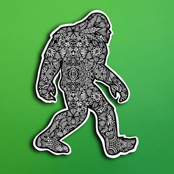 Bigfoot Sticker (WATERPROOF)