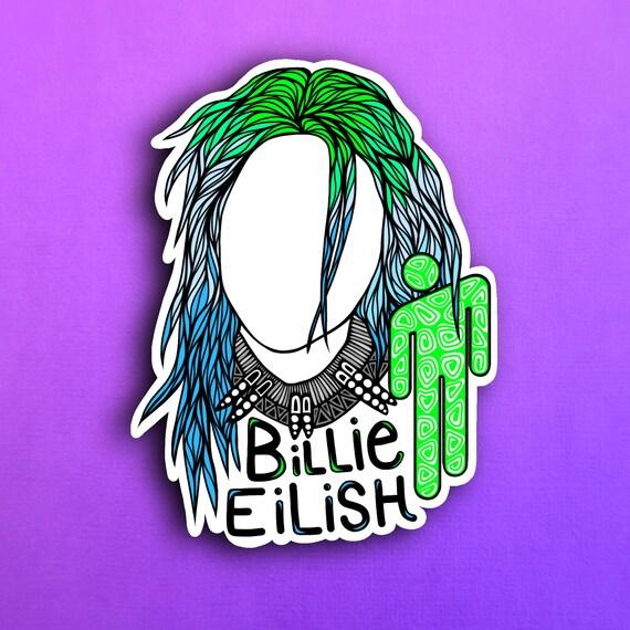 Billie Eilish Sticker (WATERPROOF)