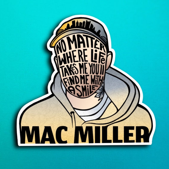 Mac Miller Sticker (WATERPROOF)