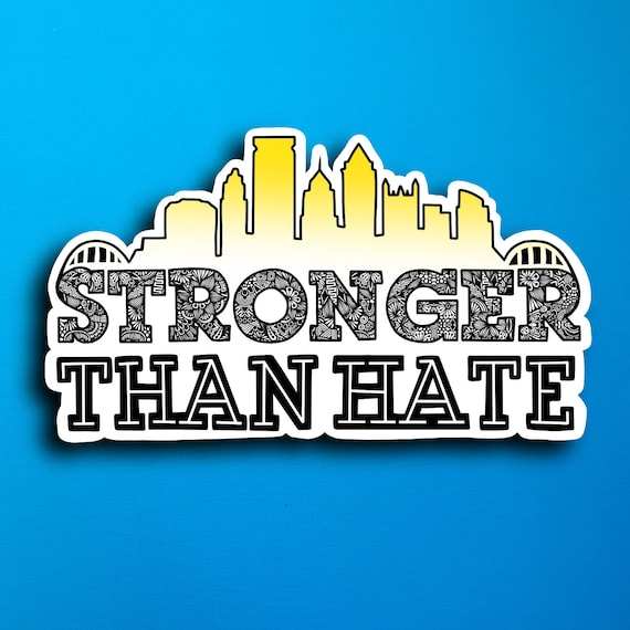 PGH Stronger Than Hate (WATERPROOF)