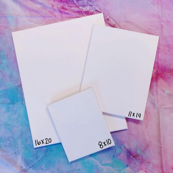 CUSTOM Rectangle Alcohol Ink Canvas