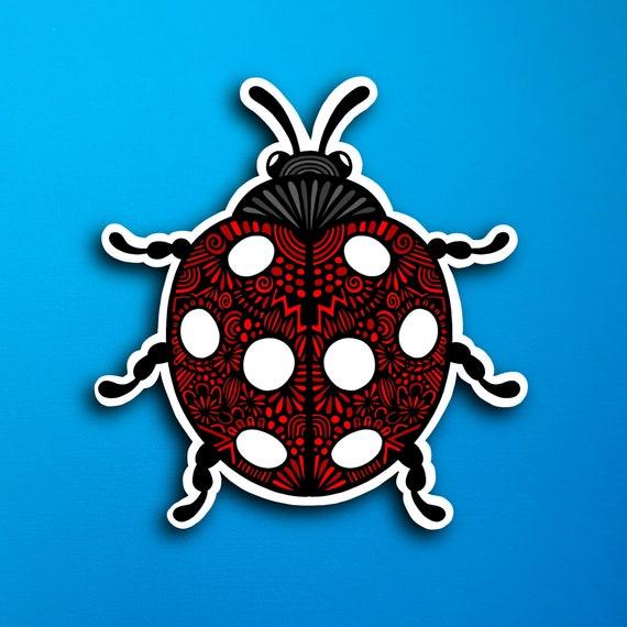 Ladybug Sticker (WATERPROOF)