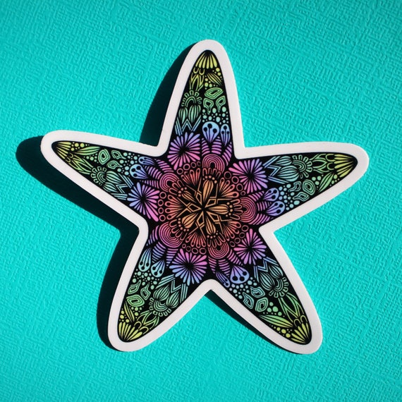 Starfish Sticker (WATERPROOF)
