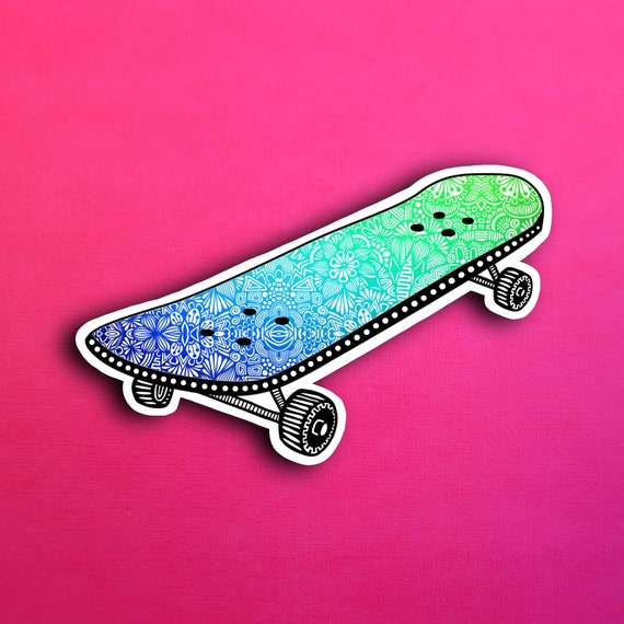 Skateboard Sticker (WATERPROOF)