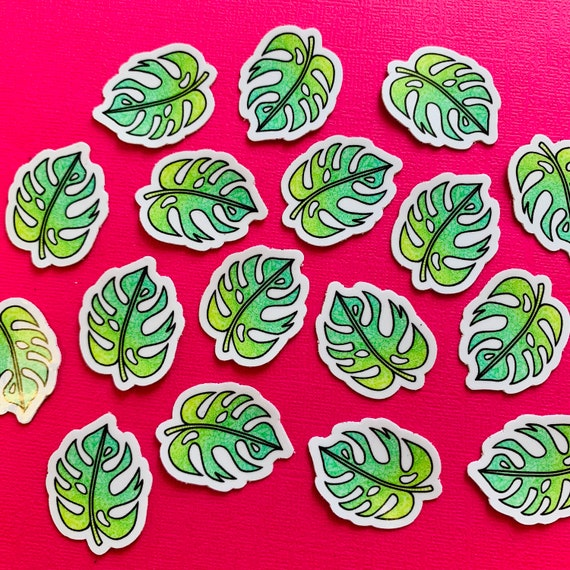 Mini Palm Leaf Sticker