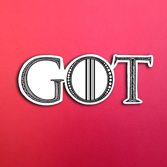 GOT Sticker (WATERPROOF)