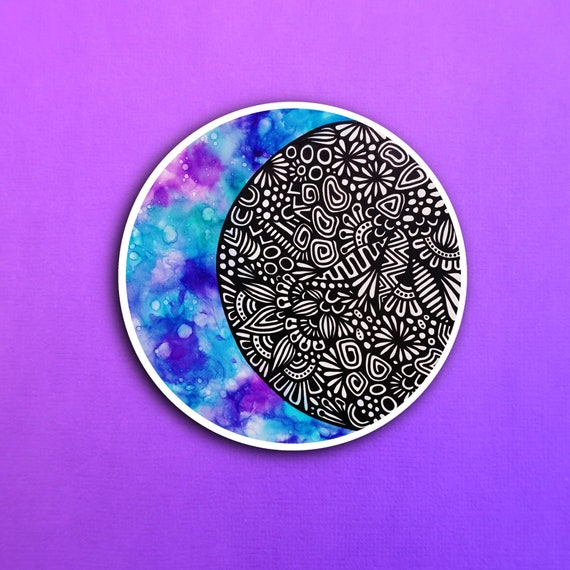 Moon Ink Sticker (WATERPROOF)
