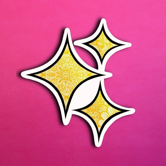 Sparkle Sticker (WATERPROOF)