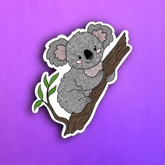 Koala Bear Sticker (WATERPROOF)