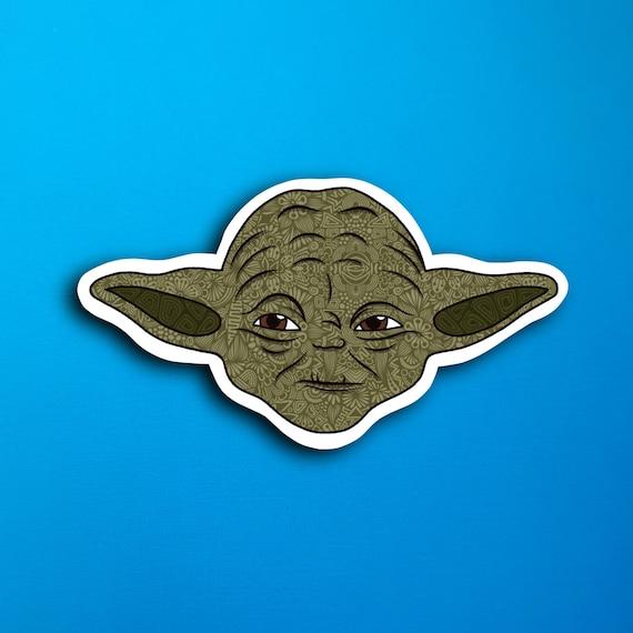 Yoda Sticker (WATERPROOF)