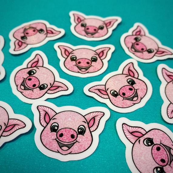 Mini Pig Sticker