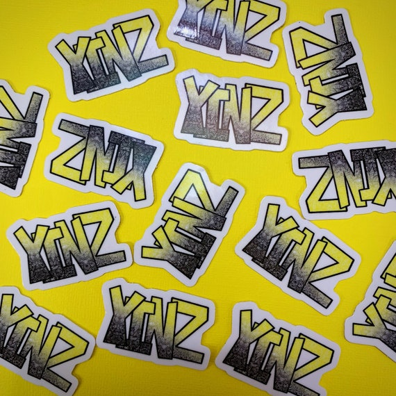 Mini Yinz Sticker