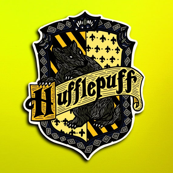 Hufflepuff Sticker (WATERPROOF)
