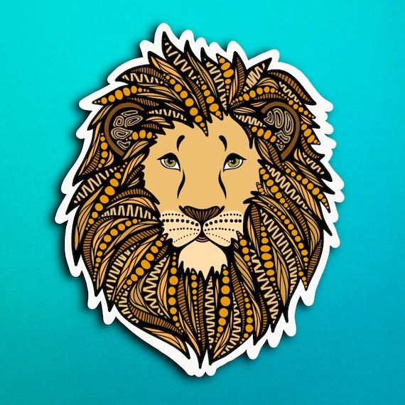 Lion Sticker (WATERPROOF)
