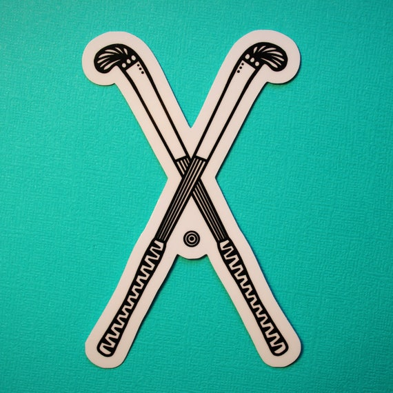 Field Hockey Sticker (WATERPROOF)